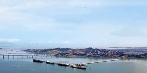 Chevron long wharf