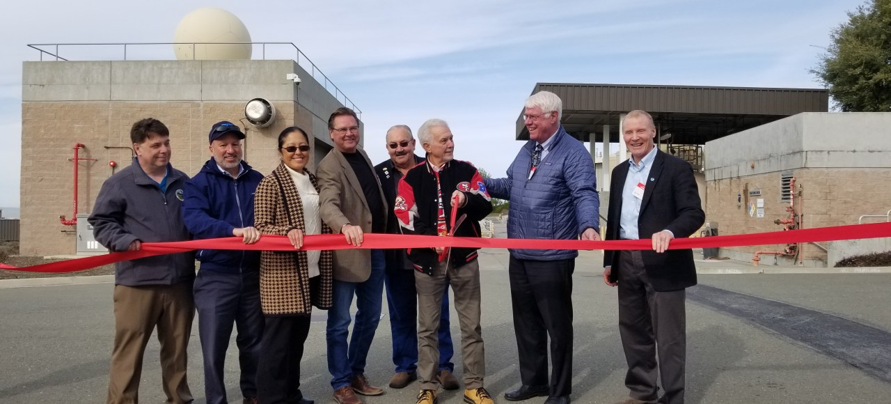 BPC Celebrates Installation of First Permanent X-Band Radar in Bay Area