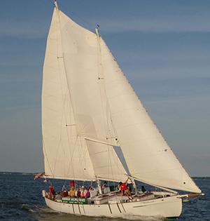 Schooner Woodwind Sailing Cruise boat