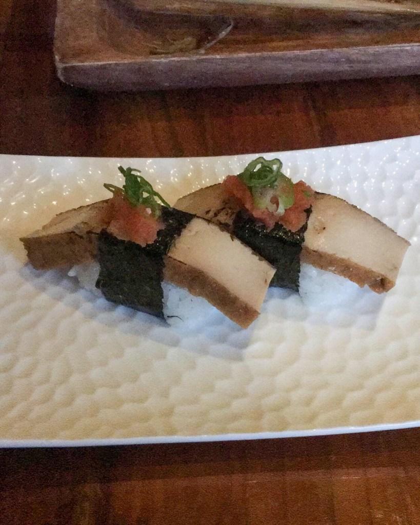 Sweet Tofu Nigiri