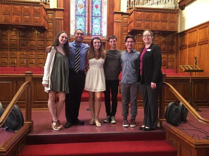 Students Receiving Scholarship Awards
