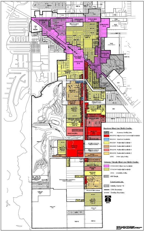 Overlay Zoning Map
