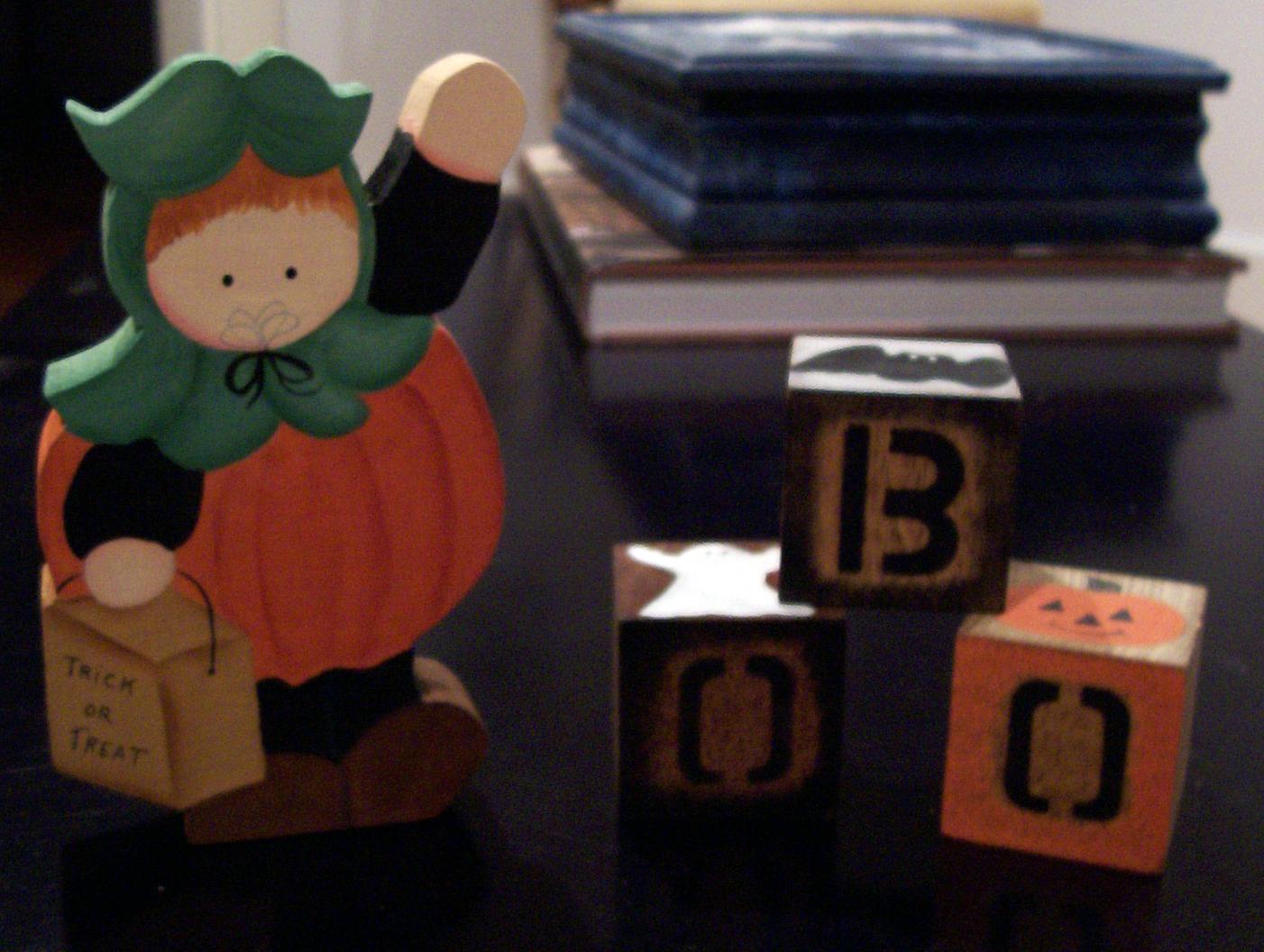 Wooden Halloween Art