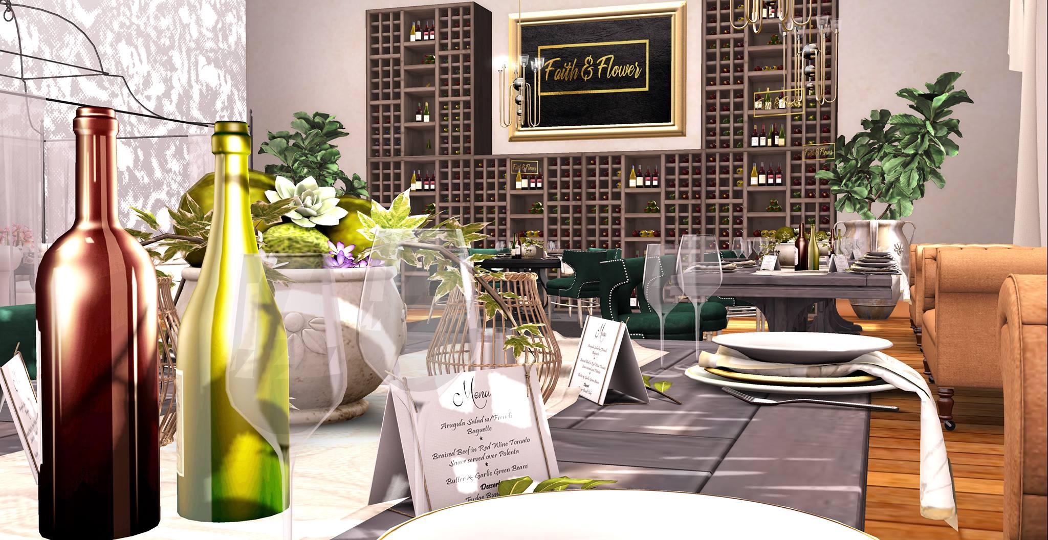 Sundays – Brunch @ Faith & Flower Restaurant and Bar