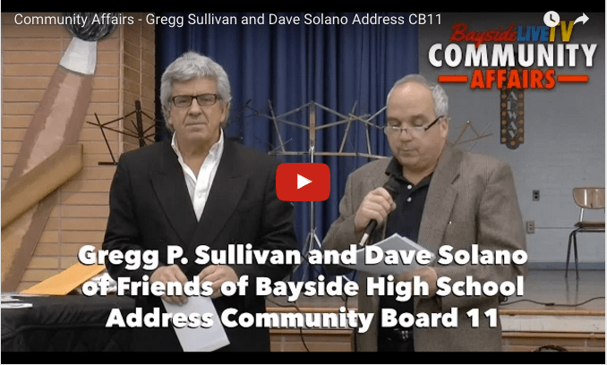 Gregg Sullivan and Dave Solano Address CB11