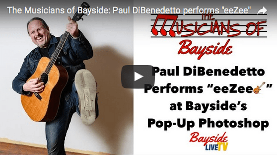 """The Musicians of Bayside – Paul DiBenedetto performs """"eeZee"""""""