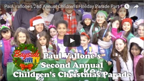 Paul Vallone's 2nd Annual Children's Holiday Parade