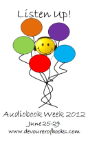 Badge for Listen Up! Audiobook Week 2012