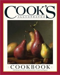 Cook's Illustrated Cookbook cover image
