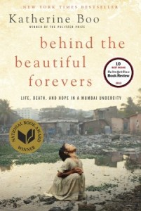 cover image of Behind the Beautiful Forevers hardcover