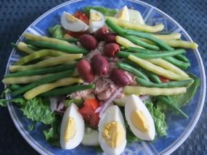 photo of finished salad