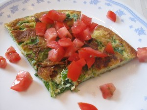 photo of Swiss Chard Omelette