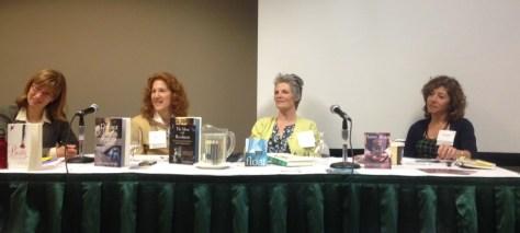 photo of author panel