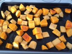 photo of cubed squash