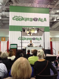 Amy Chaplin on the What's Cooking at ALA stage