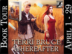 Terri Bruce Whereafter Button