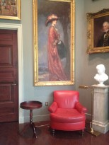The Atheneum is full of pleasant reading spots