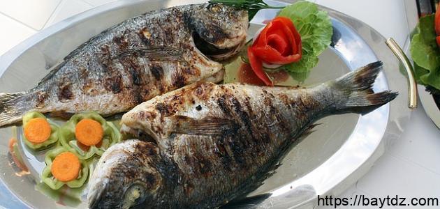 أفضل طريقة سمك بالفرن