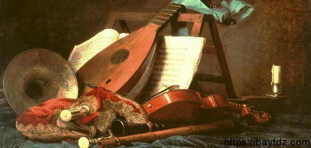 أنواع الآلات الموسیقية