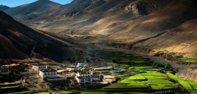 أين تقع التبت