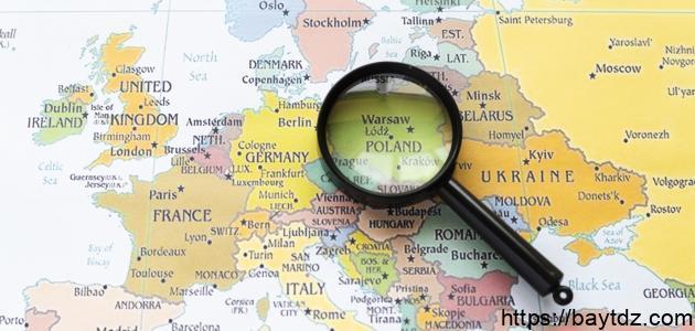 أين تقع بولندا بيت Dz