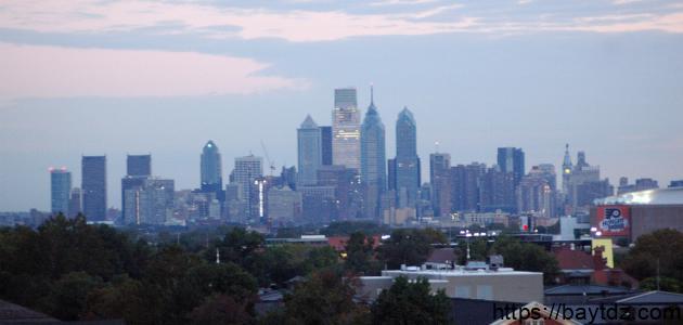 أين تقع فيلادلفيا