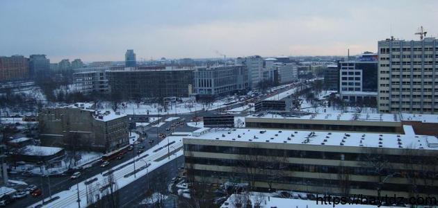 أين تقع مدينة وارسو