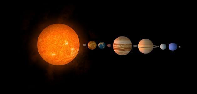 جميع الكواكب