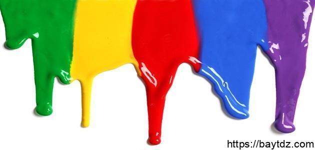 خلط الألوان