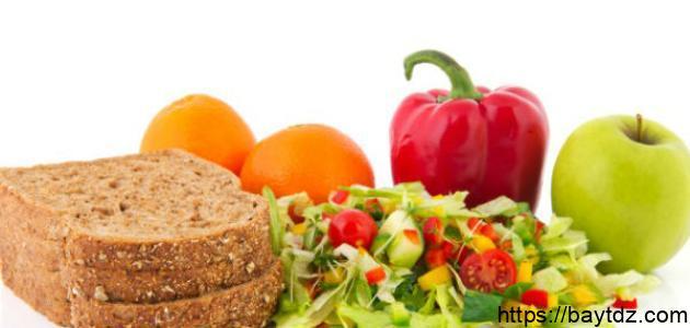 رجيم صحي لإنقاص الوزن في شهر