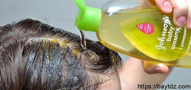 زيت لعلاج تساقط الشعر