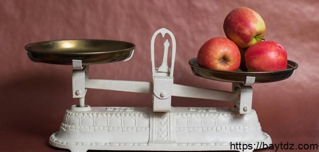 طرق قياس الوزن