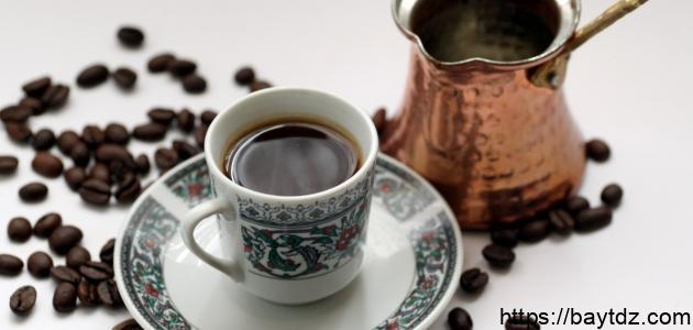 طريقة القهوة
