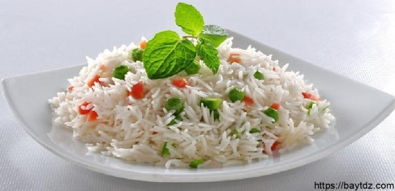 طريقة عمل الأرز المسلوق للرجيم