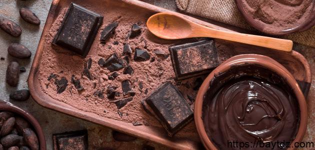 طريقة عمل الكاكاو لتزيين الكيك