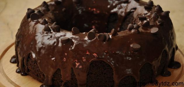 طريقة عمل كعك بالشوكولاتة