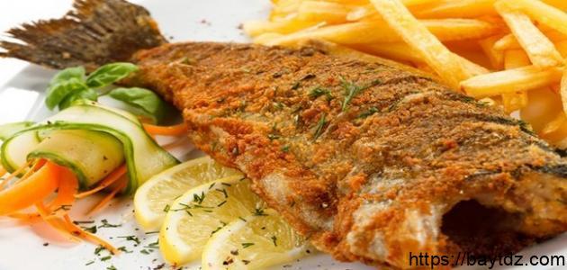 طريقة لقلي السمك