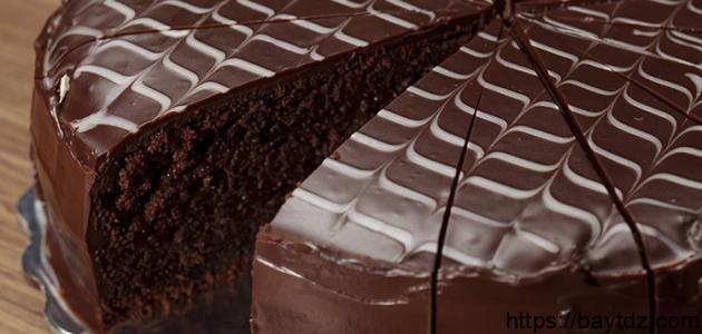 طريقة ومكونات كيك الشوكولاتة