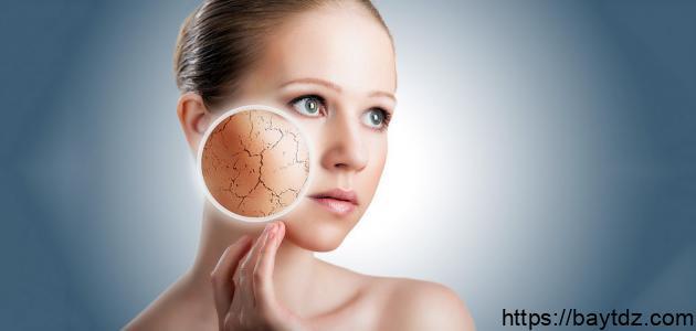 علاج طبيعي لجفاف الوجه