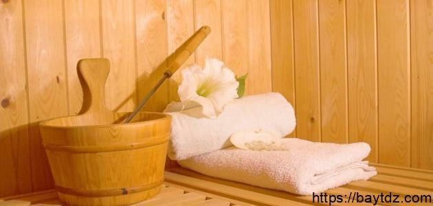 فوائد حمامات الساونا للجسم