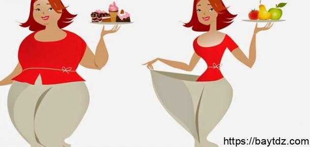 كيفية نقص الوزن في أسبوع