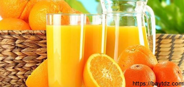 ما فائدة شرب عصير البرتقال على الريق