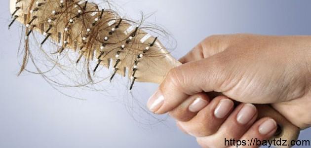 ما هو حل تساقط الشعر