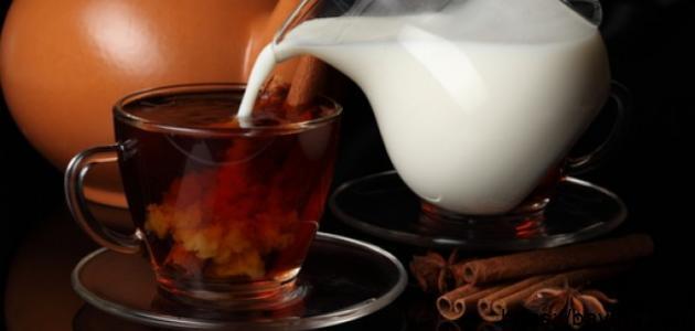 مكونات شاي الكرك