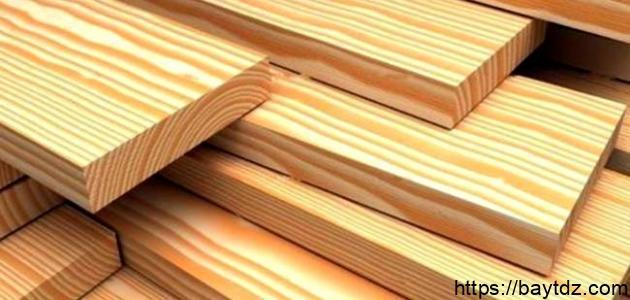 من أنواع الخشب