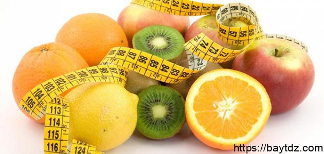 نظام غذائي صحي لإنقاص الوزن