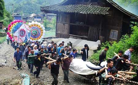 تقاليد الجنائز في الصين