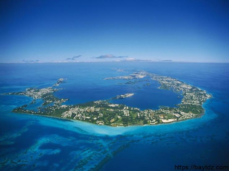 "تقرير سياحي عن جزر برمودا "" هاميلتون """