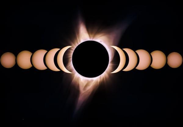 حقيقة النظر لكسوف الشمس يسبب العمى