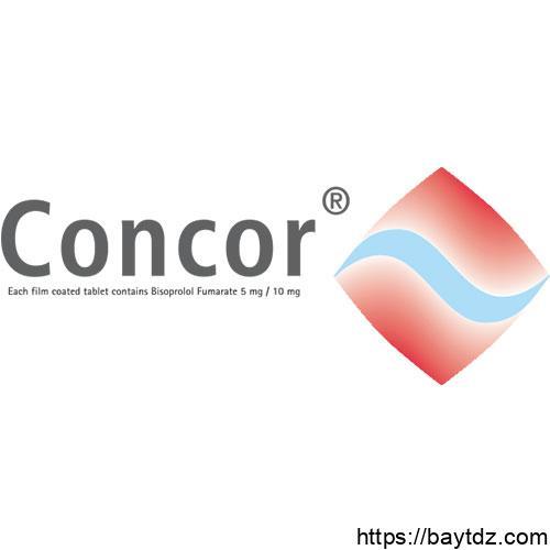 معلومات صيدلانية عن كونكور – Concor